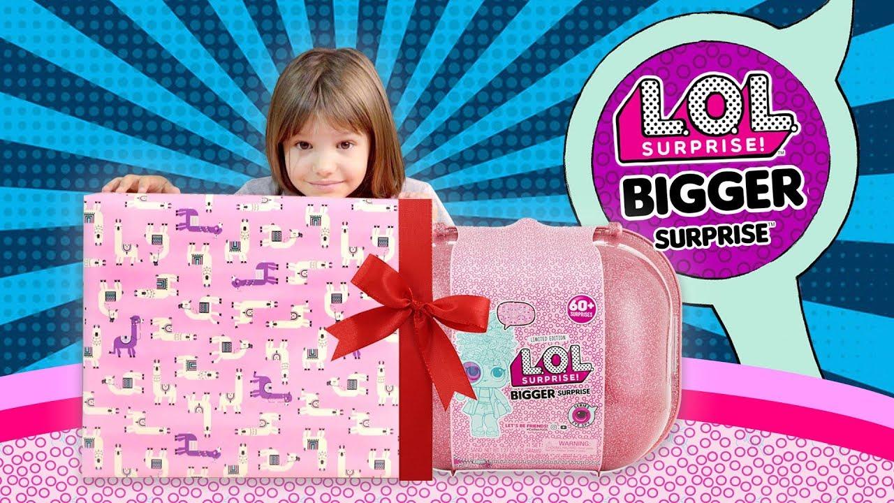 Wielka walizka L.O.L. Surprise! Bigger Surprise!, Prezent na urodziny