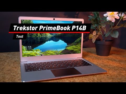 Trekstor PrimeBook P14B im Test: Top-Design für Spa ...