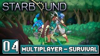 Gameplay de Starbound Multiplayer/Coop na verssão 1.0 com MetalBear e o Canal do Void. Dificultade Survival, onde você precisa comer e dropa os itens ao ...