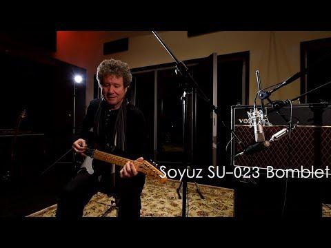 Microphone Shootout: Electric Guitar (part 2) SU-023 The Bomblet vs Neumann