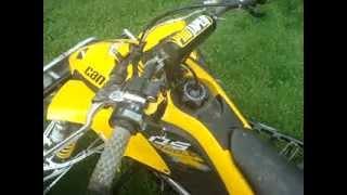 9. 2011 can am ds 450 race quad