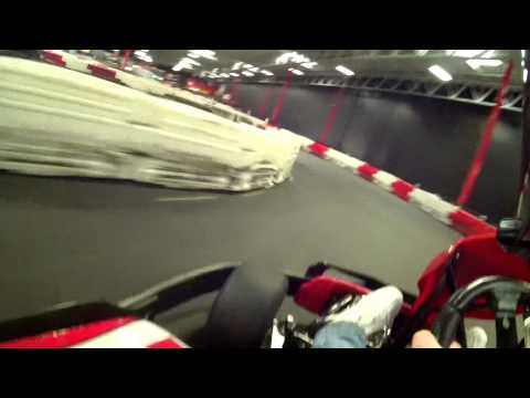 MB2 Go-kart High Impact, High Speed Crash!!!