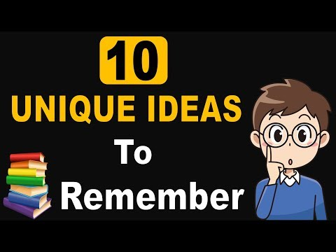 How to Remember 100% what you Read or Studied [Hindi - हिन्दी] ✔