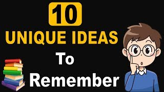 LIKE  COMMENT  SHARE  SUBSCRIBE How to remember what you Read or studied or learn or things easily ?