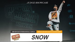 Snow – 2020 HHI Taiwan JUDGE SHOWCASE