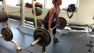 Getting Stronger! 250 lb Pull