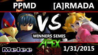 Video Apex 2015 - Armada (Peach) Vs. PPMD (Falco, Marth) - Winners Semis - SSBM MP3, 3GP, MP4, WEBM, AVI, FLV Januari 2018