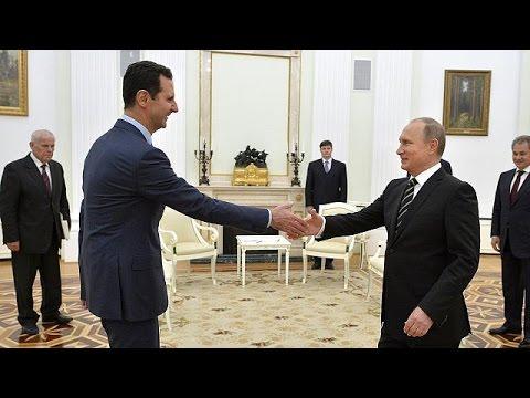 Αιφνιδίως στη Μόσχα ο Άσαντ – Ευχαριστίες προς Πούτιν