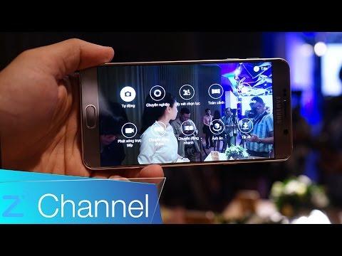 Trải nghiệm nhanh Galaxy Note 5: Có thể chỉnh tốc camera, bút S-pen nhiều tiện ích