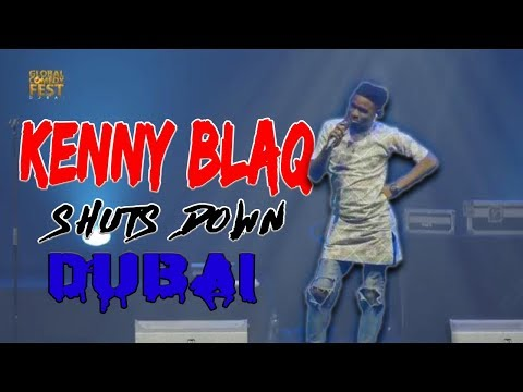 Kenny Blaq Shuts Down Dubai At The Global Comedy Fest 2018