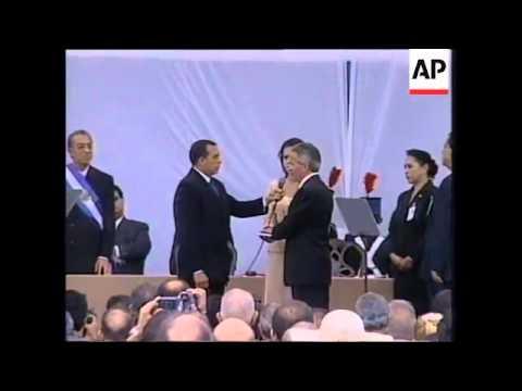 Inauguration of President Ricardo Maduro