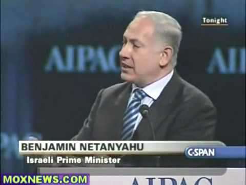 Netanyahu at AIPAC 2010 pt 3 of 4