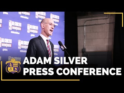 Video: NBA All-Stars 2018: NBA Commissioner Adam Silver Press Conference