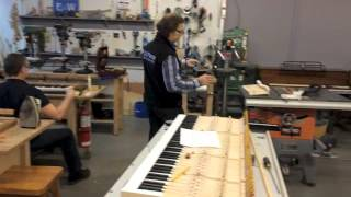 Enhancing a piano mechanism: One element to consider...