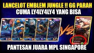 Video GG PARAH LY4LY4LY4 IS BACK LANCELOT EMBLEM JUNGLE - Mobile Legend Bang Bang MP3, 3GP, MP4, WEBM, AVI, FLV September 2018