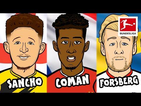 Best Left Midfielder? в Sancho, Coman, Forsberg в EURO Dream Team Battle  Powered by 442oons
