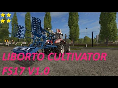 Liborto cultivator FS17 v1.0