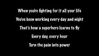 The Script - Superheroes (Lyrics+Official Audio)