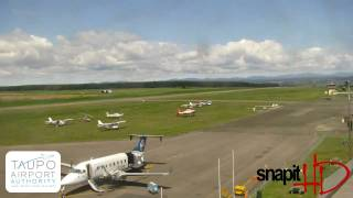 Taupo Airport Webcam Tuesday 5th October 2010
