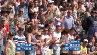 Mo Farah breaks 34-year British 3,000m record