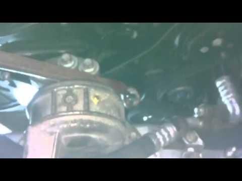 how to replace alternator belt vauxhall zafira