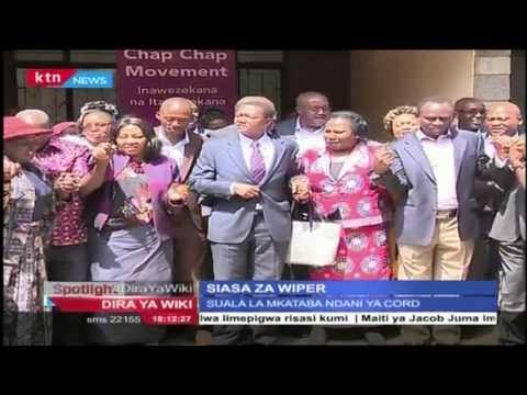 Siasa za Wiper wabunge wataka Kalonzo ahame