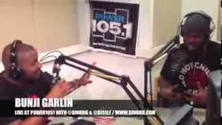 BUNJI GARLIN LIVE AT POWER1051 WITH DJNORIE & DJSELF