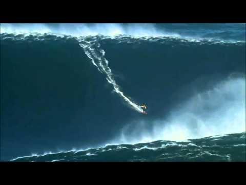 surf su un onda altissima!