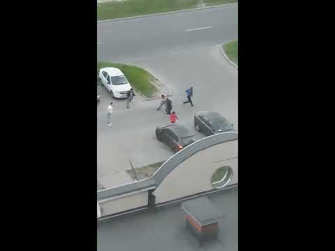 Массовая драка в Санкт-Петербурге