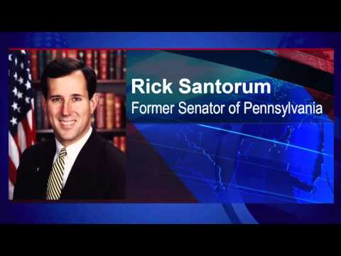 santorum - Former Senator Rick Santorum joins Steve to give his thoughts on DOMA and prop 8.