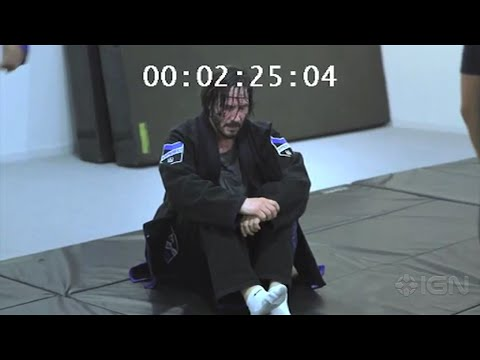 Keanu Reeves - John Wick Fight Scene Choreography Training