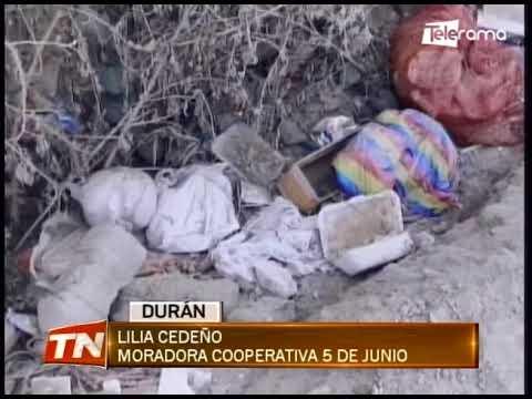 Falta de agua potable e inseguridad también afecta a los moradores