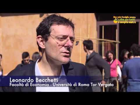 L'intervista di Leonardo Becchetti al seminario Cibo per Tutti 2015