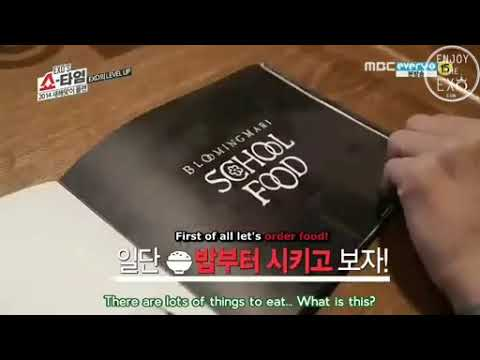 EXO Showtime Ep 8 - Eating Time