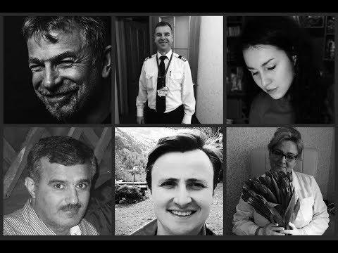 Пассажиры разбившегося самолета Ан-148 Москва – Орск. Часть 2 (видео)