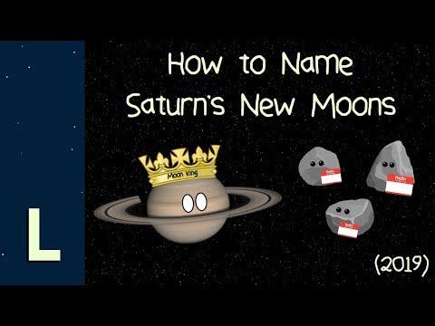 如何參與命名土星衛星的活動(英文)