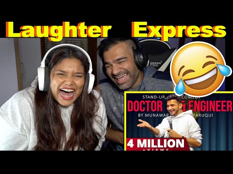 Doctor & Engineer Reaction   Munawar Faruqui Stand Up   The S2 Life