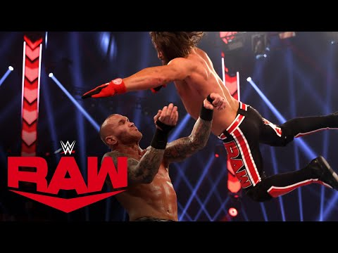 Randy Orton vs. AJ Styles – Winner Advances to Triple Threat Match: Raw, Nov. 23, 2020