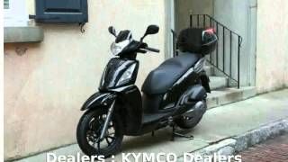 10. 2006 KYMCO People S 200 -  Top Speed Specs Info Transmission Details Dealers Engine Features