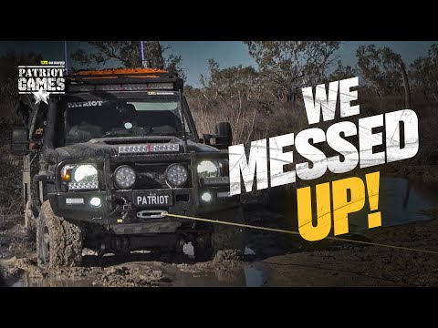 Bogged In The Flooded Simpson Desert • Patriot Games Season 3 • Episode 7