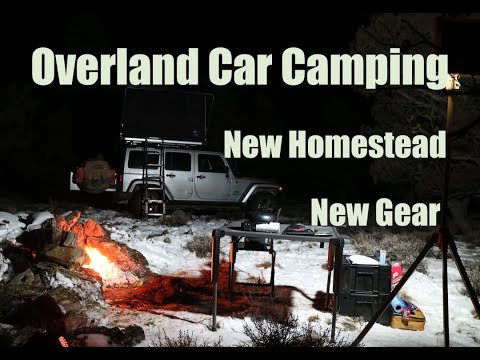 Jeep Overland Camping Adventure | New Homestead | New Gear