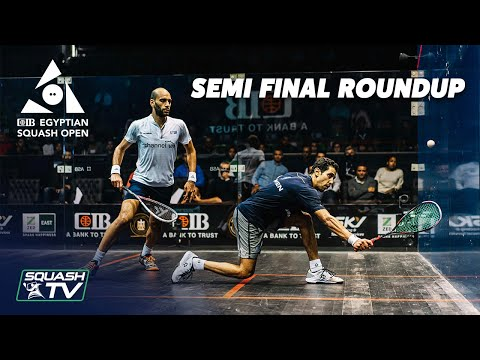 Squash: CIB Egyptian Squash Open 2020 - Men's Semi Final Roundup