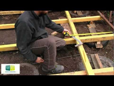comment construire extension ossature bois