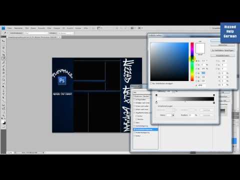 Adobe Photoshop – Youtube Template erstellen