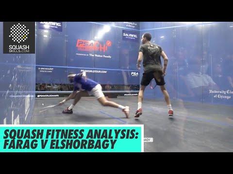 Squash Fitness Analysis: Ali Farag v Mohamed Elshorbagy