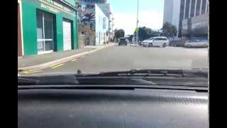New Plymouth New Zealand  city images : Car Journey Through New Plymouth , New Zealand
