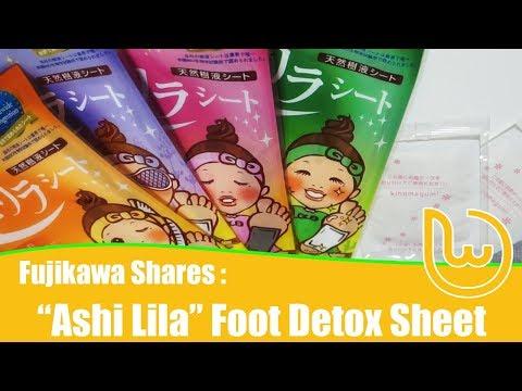 Ashi Lila Sheet: How to use Japanese Foot Detox Sheet? (видео)