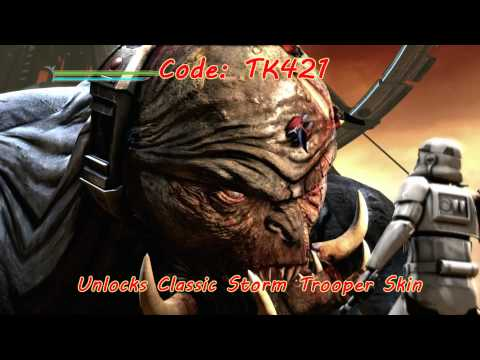 Star Wars Force Unleashed II Cheat Codes HD