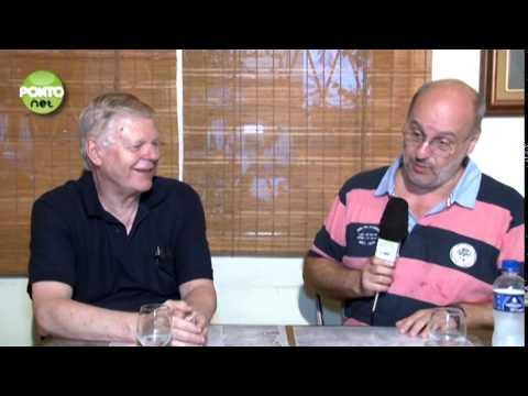 O professor Roberto Henry Ebelt é entrevistado por Ricardo Orlandini