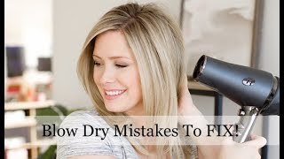Video Blow Dry Mistakes You May Be Making and HOW to Fix Them! MP3, 3GP, MP4, WEBM, AVI, FLV Juli 2019